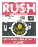Rush Nashville Serigraph by  Print Mafia