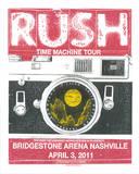 Rush Nashville Serigraph by  Print Mafia