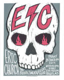 Eric Church - Biloxi Serigraph by  Print Mafia