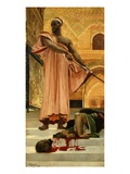 Execution Without Trial under Moorish Rulers in Granada, Spain, 1870 (Rf 22) Giclee Print by Jean-Baptiste Regnault
