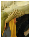 Hands of Old Man Supporting Christ's Body, from the Deposition of Christ, 1435, from Holy Trinity Giclee Print by  Fra Angelico