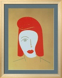 Marianne Limited Edition Framed Print by Eduardo Arroyo