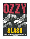 Ozzy Serigraph by  Print Mafia