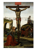 The Crucifixion with Mary Magdalene, C.1500-05 Giclee Print by Luca Signorelli