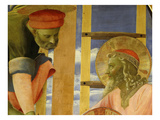 Joseph of Arimathea and Nicodemus, from the Deposition of Christ, 1435 (Detail) Giclee Print by Fra Angelico