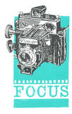 Focus Serigraph by  Print Mafia