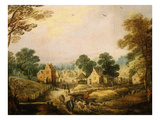 Landscape Giclee Print by Joost de Momper (Attr to)