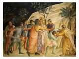 Arrest of Jesus and Judas&#39; Kiss, Fresco 1437-45, Dormitory, Convent of San Marco, Florence, Italy Giclee Print by Fra Angelico