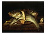 Fish Giclee Print by Leonard Bramer