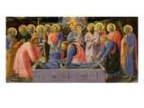 The Dormition of the Virgin Mary, from Predella of C. 1440 Giclee Print by Fra Angelico