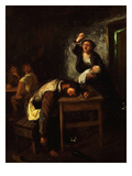 L'Ivrogne (The Drunkard) Giclee Print by Edme-Gustave Brun