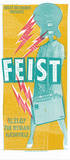 Feist Serigraph by  Print Mafia