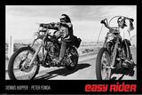 Easy Rider - Dennis Hopper & Peter Fonda on Motorcycles Kunstdrucke