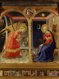 The Annunciation, from C. 1440 Altarpiece of Convent of Montecarlo Photographic Print by  Fra Angelico