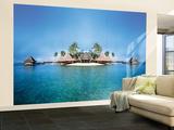 Paraíso tropical perdido - Mural Mural de papel pintado