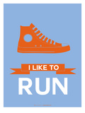 I Like to Run 3 Poster by  NaxArt