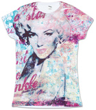 Juniors: Marilyn Monroe - Fancy Huh T-shirts
