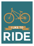 I Like to Ride 6 Print by  NaxArt
