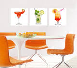 Exotic Drink Bartender Vinilos decorativos por . Design Team