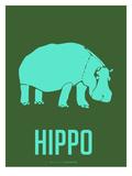 Hippo Blue Prints by  NaxArt