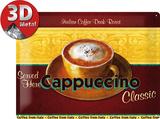 Cappuccino Plåtskylt
