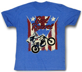Evel Knievel - Spangled T-shirts