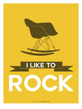 I Like to Rock 4 Posters by  NaxArt
