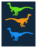 Dinosaur Family 12 Posters by  NaxArt