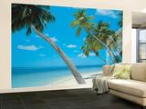 Playa de Yikiki - Mural Mural de papel pintado