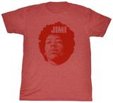 Jimi Hendrix - Jimi Head T-Shirts