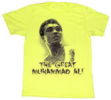Muhammad Ali - Ali The Great T-shirts