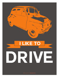 I Like to Drive Beetle 4 Prints by  NaxArt