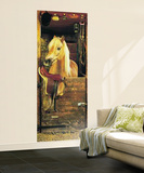 Dreamy Pony Huge Wall Mural Poster Print Wallpaper Mural