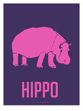 Hippo Pink Poster by  NaxArt
