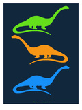 Dinosaur Family 25 Posters par  NaxArt