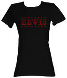 Juniors: Elvis Presley - Elvis Stars T-Shirt