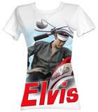 Juniors: Elvis Presley - Color Chopper T-Shirt