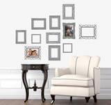 Family &amp; Frames Autocollant mural par Alice Wilson