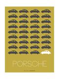 Porsche Grey Poster Photo by  NaxArt