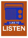 I Like to Listen 1 Prints by  NaxArt