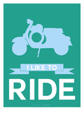I Like to Ride 2 Prints by  NaxArt