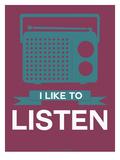 I Like to Listen 3 Art by  NaxArt