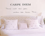 Carpe Diem Decalque em parede por Andrea Haase