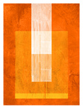 Orange Paper 2 Poster by  NaxArt