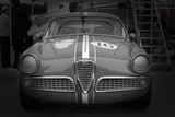Racing Alfa Rome laguna Seca Photographie par  NaxArt