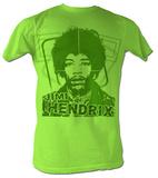 Jimi Hendrix - Jimi Green T-Shirt
