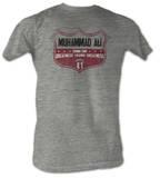 Muhammad Ali - Ali Crest T-shirts