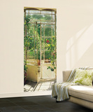 Arbor Door Huge Wall Mural Poster Print Wallpaper Mural