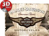Harley-Davidson American Classic Logo Tin Sign