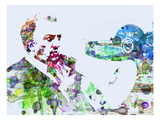 Federico Fellini Prints by  NaxArt